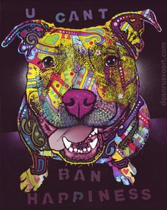U Cant Ban Happiness PRINT - Dean Russo