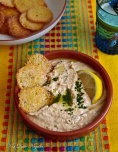 5 Minute Lime & Chilli Hommus @ Not Quite Nigella