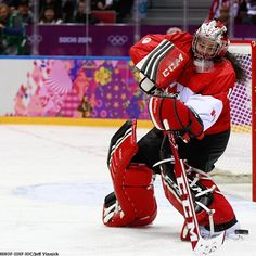 Gold medal goaltender Shannon Szabados will be making history tomorrow. She will be the first female ever to play a game in the decade-old Southern Professional League. Women's Hockey, Sports Teams, Old Men, Golf Bags, Southern, Trees, Canada, Play, Game