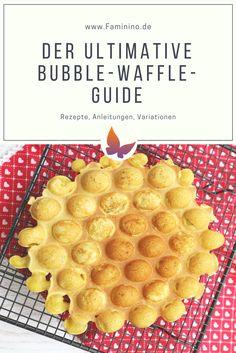 Wie backe ich Egg-Waffles (Bubble-Waffles, Hong Kong Waffles)?