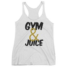 Gym & Juice Racerback Tank