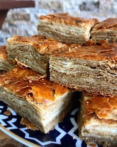 Pie Recipes, Dessert Recipes, Cooking Recipes, Arabic Dessert, Pastry And Bakery, Turkish Recipes, Sweet Bread, Brunch, Food And Drink