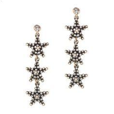#J.Crew - #Star #earrings