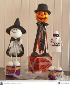 Halloween Crafts Ideas (halloween, theme, ideas, inspiration, decor, decoration, home, house, garden, party, scary, spooky, crafts, do it yourself, DIY, easy, cheap)