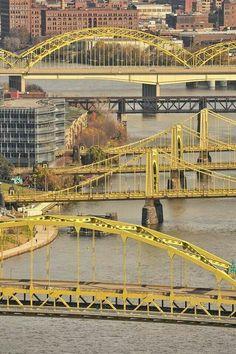 Pittsburgh- 3 bridges
