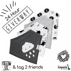 ▪️24 hour G I V E A W A Y▪️ This beautiful set of 4 Organic Cotton Bandana Bibs can easily be yours by simply following us and tagging 2 of your friends to this post.  The randomly selected winner will be announced on Aug 4th at 10:00 am.  You can enter as many times as you want, just make sure to tag different friends 😜 Valid in the U.S. only.  #share #giveaway #organic #modernbaby #freegiveaway Like on Instagram @LiapelaModernBaby
