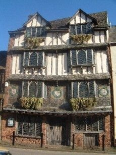 A Tudor House in Exeter #travel #travelphotography #travelinspiration