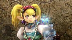 Zelda Hyrule Warriors #WiiU : Agitha is playable official screenshot