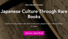 This summer, take a real college Japanese culture course online through Keio University for free