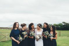 Temperley London Lace For A Rustic Nature Inspired Scottish Wedding