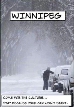 Pin from Edmonton, Alberta, Canada - Definitely could be a slogan for WV this week. Canadian Things, I Am Canadian, Canadian Humour, Canadian Winter, Canadian Memes, Canadian Culture, Canada Funny, Canada Eh, Visit Canada