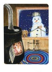 Snowland Tarot/ The Snowman