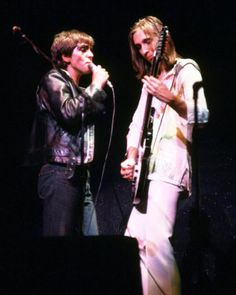 Genesis~Peter Gabriel and Mike Rutherford