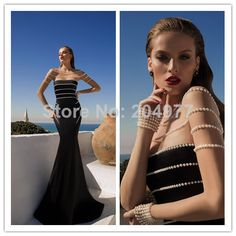2014 New Arrival Arabic Style Evening Dress Boat Neck Rich Pearls Long Tulles Sleeves Sexy Floor Length Mermaid Evening Gown-in Evening Dres. Mermaid Evening Gown, Mermaid Prom Dresses, Cheap Prom Dresses, Formal Dresses, Evening Gowns Couture, Long Evening Gowns, Prom Dress 2014, Gala Dresses, Dresses 2014