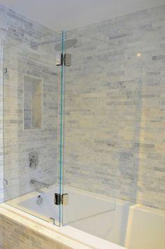 Glass Bathtub  Enclo
