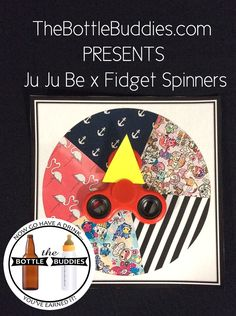 Fidget Spinner and Ju Ju Be Craft Idea