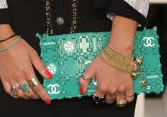 Zoe Kravits carries Chanel via Getty Images