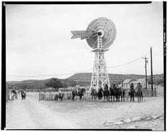 Canon Ranch,Eclipse Windmill, Sheffield, Pecos County, Texas.