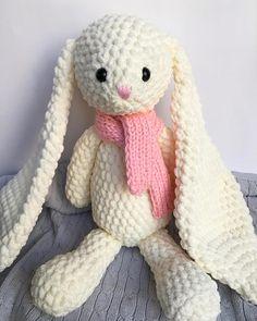 Crochet bunny  crochet bunny rabbit Polly  nursery decor