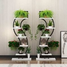 Online Shop Beautiful & Nice pergola for living room and balcony flowerpot holder flower shelf wedding prop frame for flowers House Plants Decor, Plant Decor, Home Decor Furniture, Garden Furniture, Garden Rack, Inside Plants, Flower Stands, Plant Shelves, Interior Plants