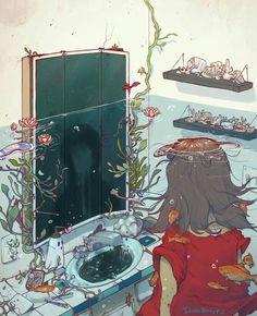 Épinglé par Ciara Brehony sur Illustration and Drawing Art Inspo, Inspiration Art, Pretty Art, Cute Art, Bel Art, Desu Desu, Art Mignon, Art Anime, Art Et Illustration