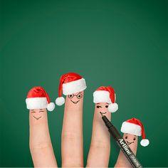 El ambiente navideño simplemente no se peude evitar. #navidad #marcadores #creatividad #diciembre