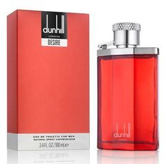 Desire Red by Dunhill London For Men EDT 3.4 oz/100 ml, NEW IN BOX #Dunhill