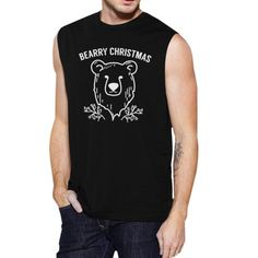 Purchase 365 Printing Bearry Christmas Bear Men Funny Graphic Muscle Top Christmas Gift from Kim on OpenSky. Share and compare all Apparel. Top Christmas Gifts, Christmas Humor, Christmas Themes, Merry Christmas, Muscle Tank Tops, Ugly Sweater, Sweaters, Bear Men, Muscle Men