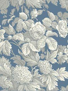 DecoratorsBest - Detail1 - YO KC1845 - ANTIQUE FLORAL - KC1845 - Wallpaper - DecoratorsBest