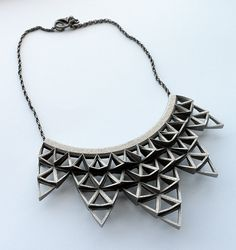 fathomandform:    Arrowhead Cluster Necklace  #jewelry