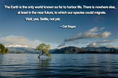 Carl Sagan Quotes on Earth