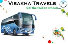 Visakha Travels: Get the feel on the wheels... Book a #cab now at www.visakhatravels.com