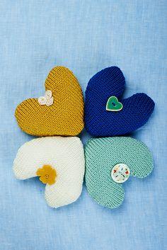 Ravelry: Lavender hearts pattern by Sarah Hazell