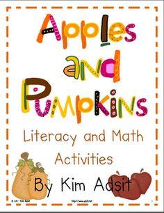 apples and pumpkins activities