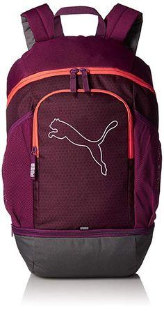 c2087ef90e0 Puma 23 Ltrs Dark Purple Hot Coral Laptop Backpack (7439607)