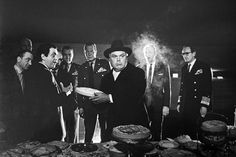 Stanley Kubrick's Dr. Strangelove and the cream pie fight.