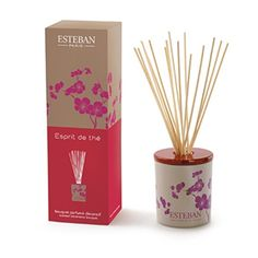 Esteban Paris Esprit de thé Decorative Scented Bouquet diffusers. $34.99
