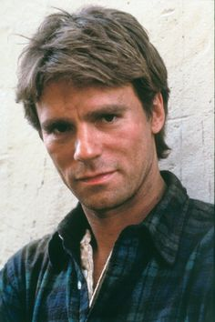 Macgyver- My first TV crush. Crushed Hard.... Oh the memories. Good thing I have this on DVD. ;)