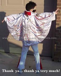 Elvis Costume - Daphneu0027s costume idea & Coolest Homemade Elvis Costume Ideas | Pinterest | Elvis costume ...