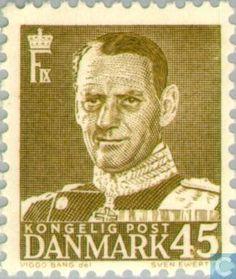 Denmark - King Frederick IX. 1950