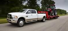 The Ram 2500/3500 Heavy Duty Pickups undergo nothing less than radical new developments for 2012; the results encompass a new Best-In-Class towing figure, unsurpassed torque — and more versatility and capability than ever
