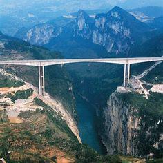 Ponte Liuguanghe – China   Mega Engenharia