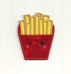 Happy Fry Patch by WondersofWorlds on Etsy, $3.99