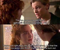 Titanic Movie Facts, Titanic Quotes, Titanic Movie Scenes, Leo And Kate, Leonardo Dicapro, Ella Enchanted, Young Leonardo Dicaprio, Favorite Movie Quotes, Rms Titanic