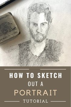 Learn how to draw a portrait sketch in this portrait drawing tutorial. Learn where to start drawing people as well as how to create accurate measurements. Drawing Skills, Drawing Lessons, Drawing Techniques, Drawing Tips, Study Techniques, Shading Drawing, Cloud Drawing, Nose Drawing, Step By Step Sketches