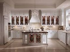 u shaped kitchen designs with island - Google Search