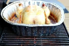 How To Easily Grill a Whole Turkey or Chicken on the BBQ