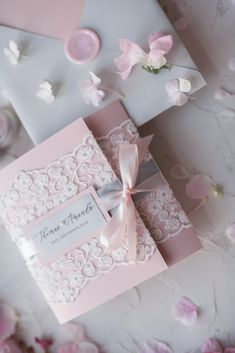 Vintage Lace Wedding Invitations Elegant Invites Grey and Blush Pink Bespoke Wedding Invitations, Vintage Wedding Invitations, Elegant Wedding Invitations, Wedding Invitation Cards, Wedding Cards, Invitation Suite, Wedding Stationery, Wedding Vows, Wedding Signs