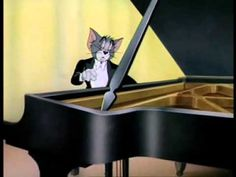 The Cat Concerto Tom and Jerry. The Cat Concerto is a 1947 American one-reel animated cartoon and is the Tom and Jerry short. It was produced by Fred Quimby and directed by William Hanna and Joseph Barbera, with musical supervision by Scott Bradley. Best Classical Music, Music App, Cc Music, Music Class, Piano Music, Sheet Music, Tom And Jerry Cartoon, Toms, Wonder Boys