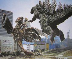 Godzilla vs Megaguirus-Toho (2000): ゴジラ×メガギラス, G消滅作戦!